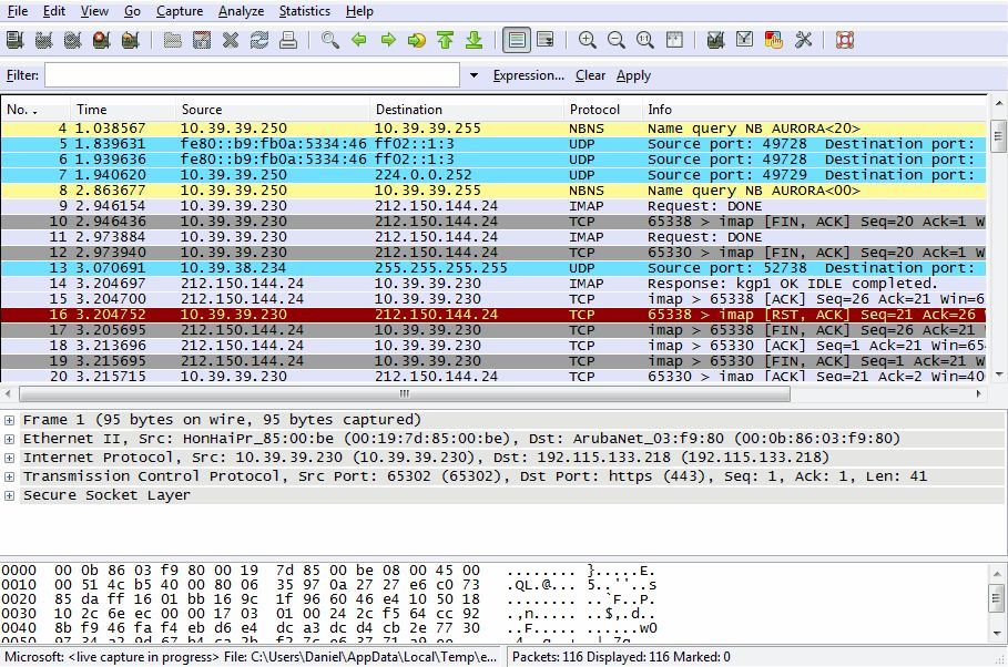 Wireshark 1.6.1