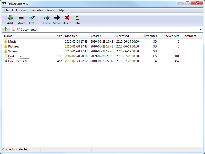 7-Zip Portable 4.65 Rev 3