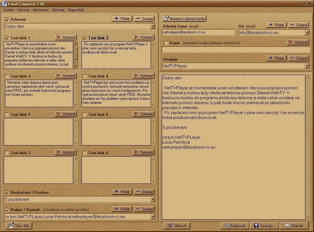 Email Composer 1.01