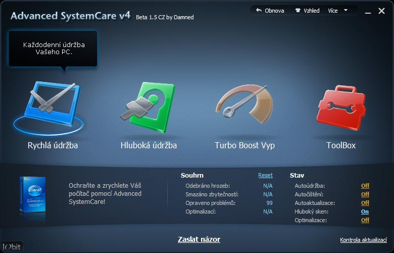 Advanced SystemCare  4.0.1