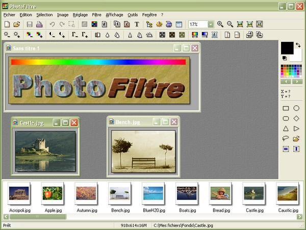 PhotoFiltre Portable 6.5.2
