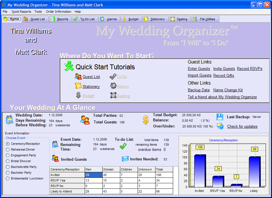 My Wedding Organizer 5.8.0.15