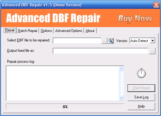 Advanced DBF Repair 1.6