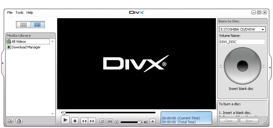DivX Play Bundle 6.3.1 Beta 1