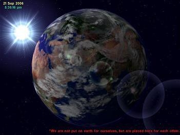 3D Earth Screensaver  1.4