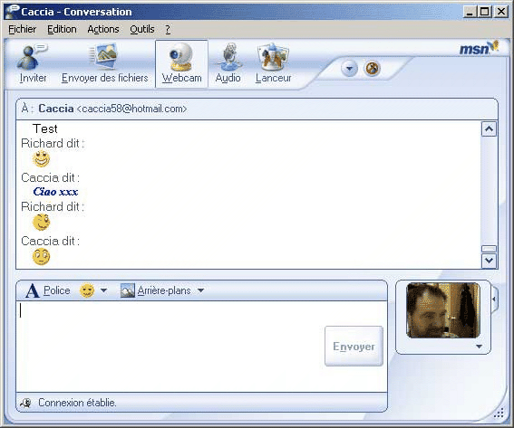 MSN Messenger 8.1.0168.00