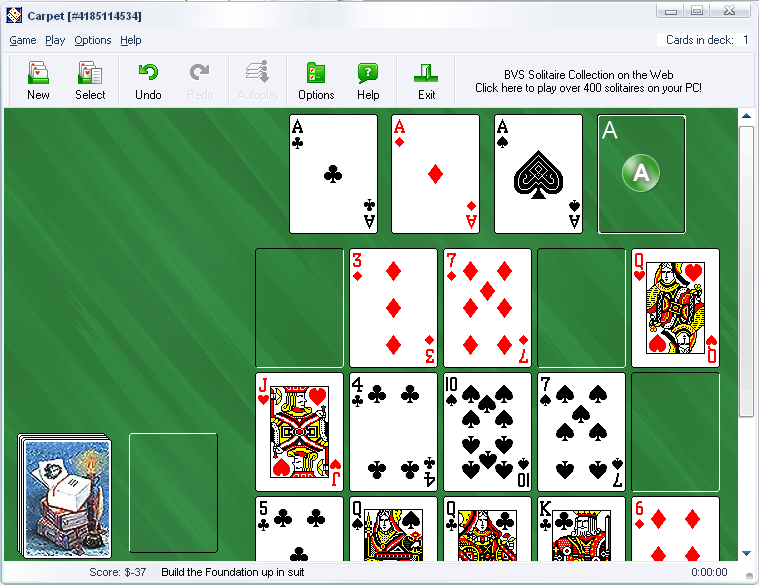 1st Free Solitaire 1.6