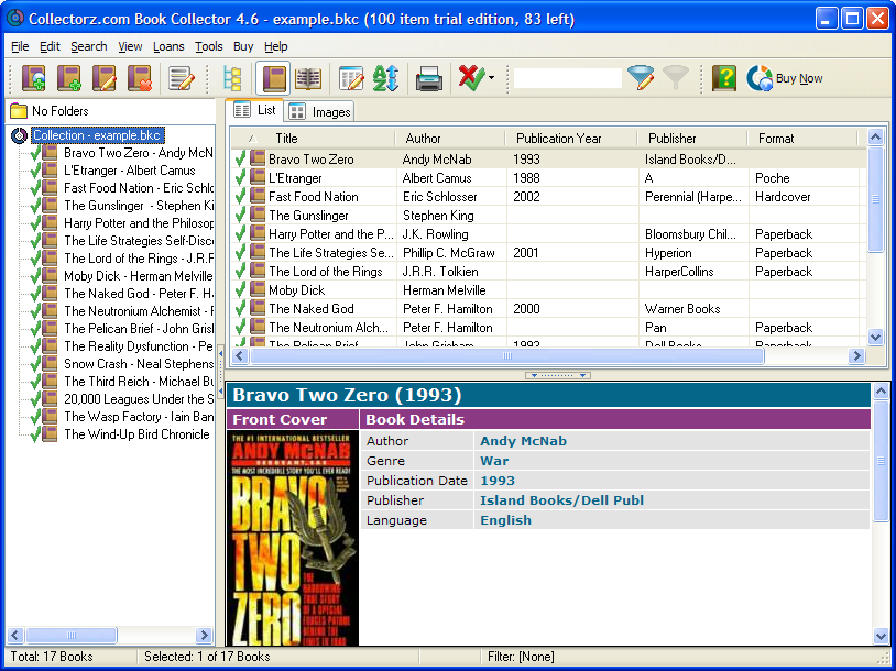 Collectorz.com Book Collector  5.2 Build 2