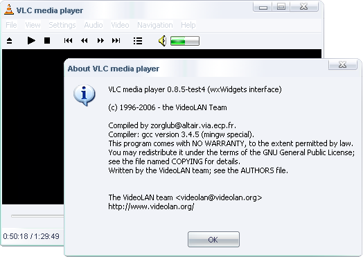 VLC Media Player Portable 1.1.4