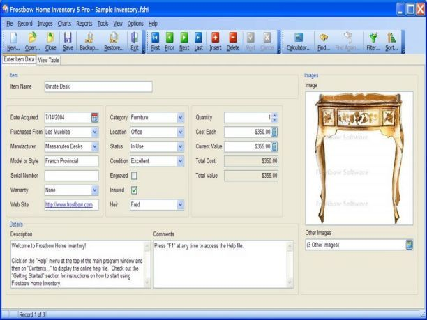 Frostbow Home Inventory Pro  5.2.4