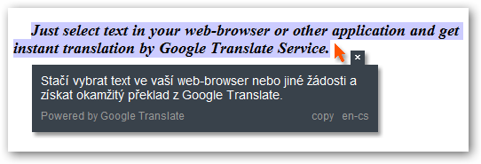 Google Translate Client 5.0