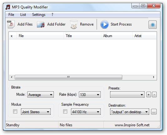 MP3 Quality Modifier 2.04