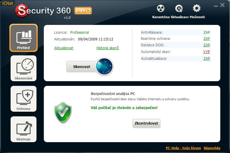 IObit Security 360 1.6.0