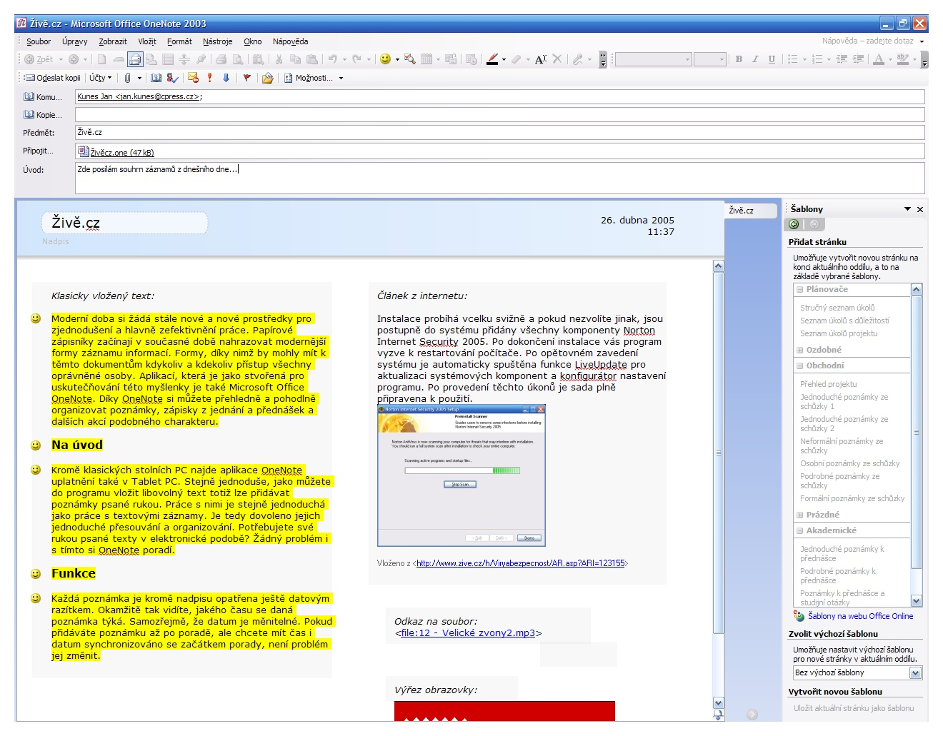 microsoft office onenote 2003 trial
