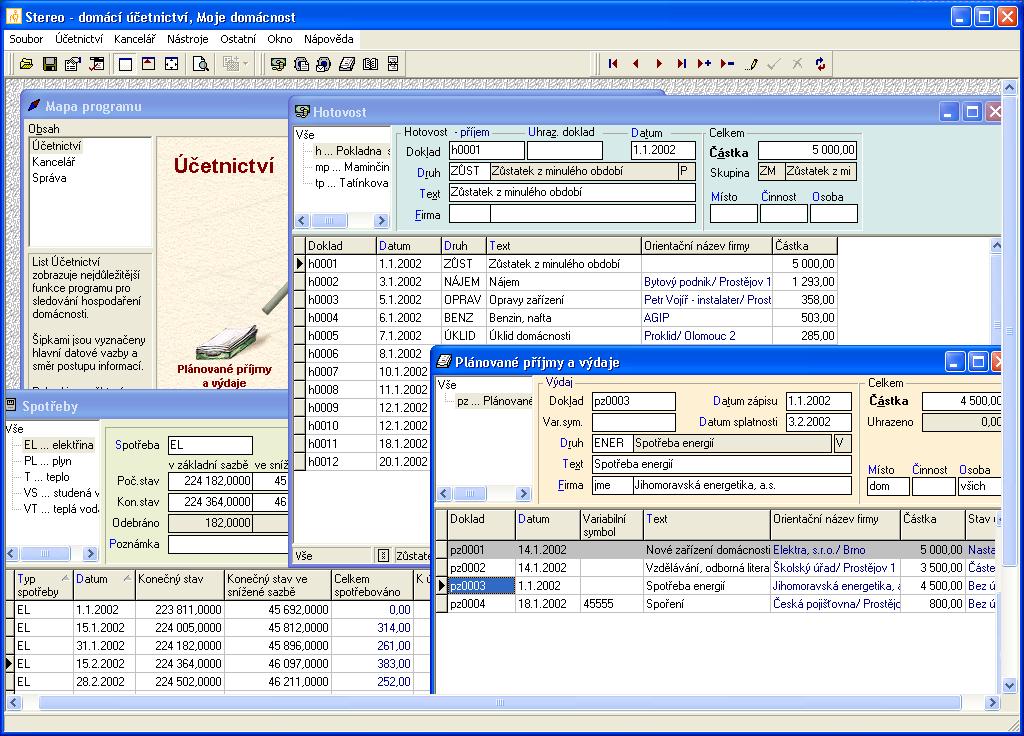 Software pro domácnost