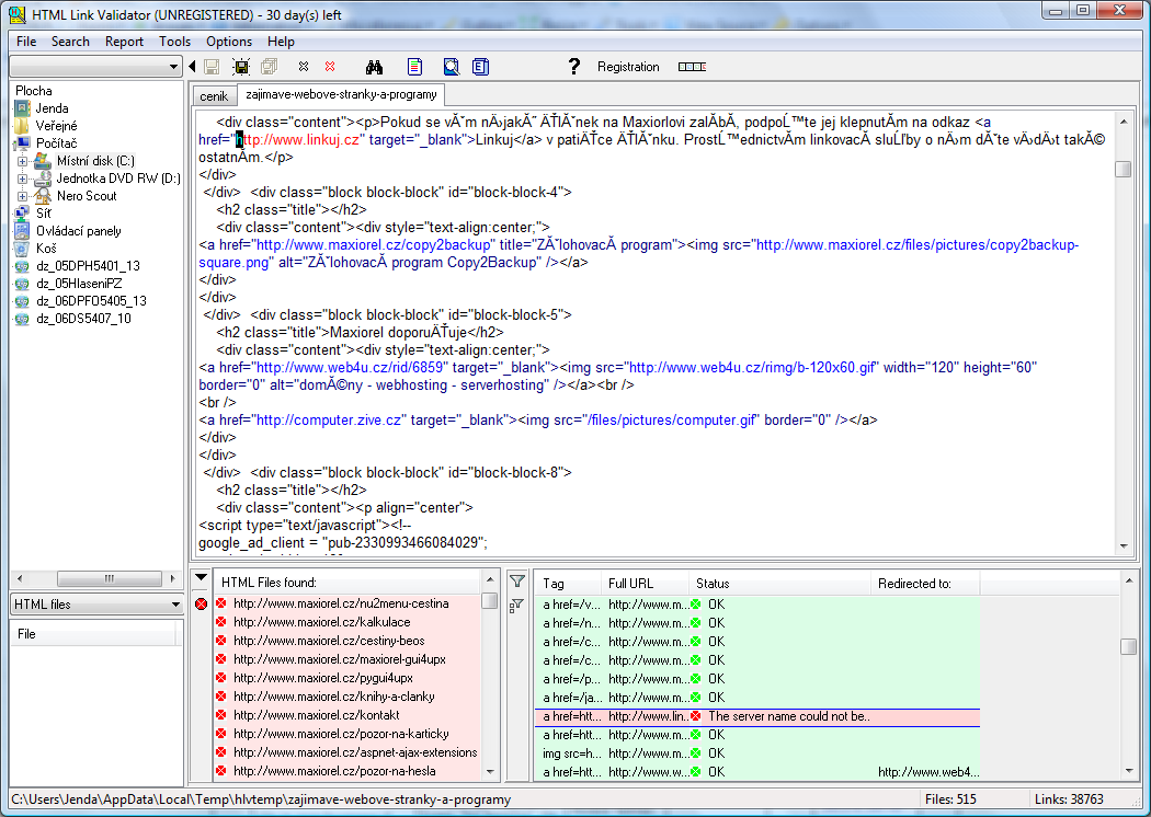 Obrázek jako odkaz html