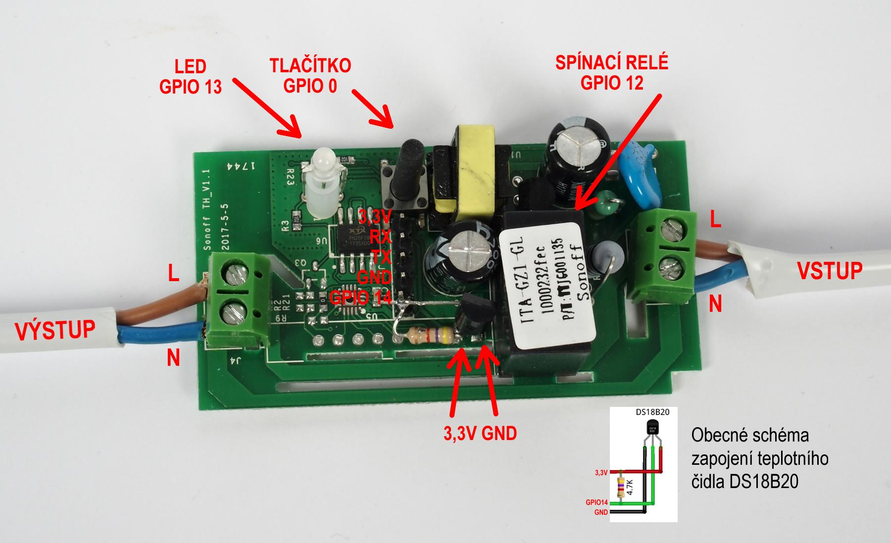 Pojďme programovat elektroniku: Hackneme ultralevný Sonoff a
