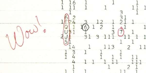 """Záhada """"Wow!"""" signálu rozluštěna: Žádní mimozemšťané, ale komety"""