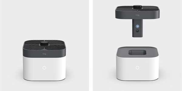 Bezpečnostní společnost patřící Amazonu představila nový dron určený pro ostrahu domácností   Foto: Ring