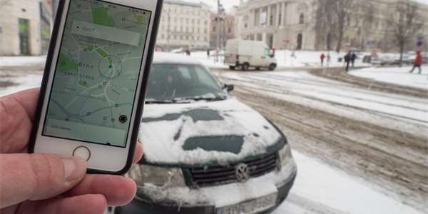 Uber v Česku