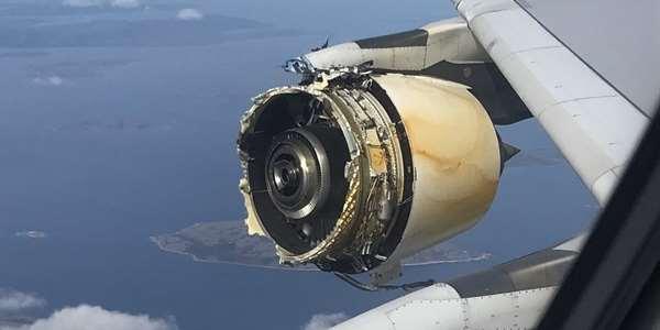 Airbus A380 ztratil při letu kryt jednoho motoru ...  Airbus A380 ztr...