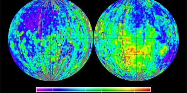 Měsíc měl magnetické pole přes 2 miliardy let