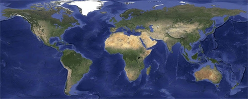 google mapa sveta Satelitní mapy v Google Maps jsou podrobnější a bez mraků – Živě.cz google mapa sveta