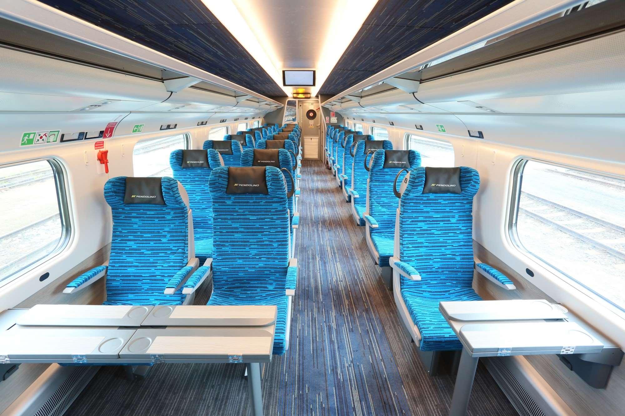 8bc147afd87 Samozřejmostí je pokrytí vlaků Pendolino bezdrátovým připojením k  internetu, které bylo dostupné i před modernizací ...