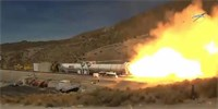 Northrop Grumman otestoval booster rakety Space Launch System