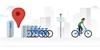 Mapy Googlu ve 24 městech zobrazují informace o poloze stojanů se sdílenými koly