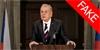 Prezident Miloš Zeman propaguje nový seriál od HBO. Jedná se o falešné video