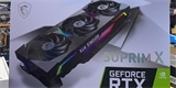 MSI GeForce RTX 3080 Ti už je neoficiálně v prodeji s cenou 100 tisíc korun