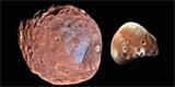 Měsíce Marsu byly původně jedním tělesem. Phobos a Deimos rozdělila vesmírná srážka