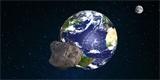 Asi jste si toho ani nevšimli: o víkendu proletěl mezi Zemí a Měsícem dvacetimetrový asteroid