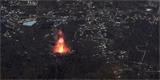 Kanárská sopka z družice: Skoro jako kdyby někdo nad lávou přelétl dronem