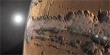 Z VESMÍRU: Nejdetailnější snímky kaňonu na Marsu a zkoumání cizích měsíců