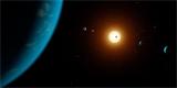 Šest planet u jedné hvězdy a na každé život? Podle vědců je to možné