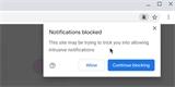 Chrome 84 bude blokovat otravné žádosti o zasílání notifikací