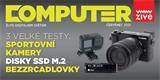 V novém Computeru najdete tři srovnávací testy: sportovní kamery, M.2 NVMe SSD a bezzrcadlovky