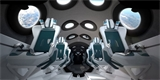 Virgin Galactic se pochlubila interiérem kosmoplánu SpaceShipTwo