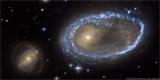 Astrosnímek týdne: Prstencová galaxie AM 0644-741
