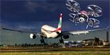 Londýnské letiště Heathrow si pořídilo ochranu proti dronům, která ukáže i polohu pilota
