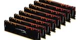 HyperX začal prodávat 256GB kit operačních pamětí DDR4 i modely sfrekvencí 4800 MHz