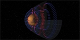 Planetární sonda MAVEN zmapovala elektrické proudy v okolí Marsu