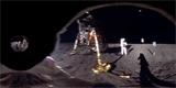 Astrosnímek týdne: 50 let stará digitálně převrácená selfie z Měsíce