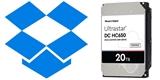 Dropbox vsadí na pevné disky Western Digital s kontroverzní technologií SMR