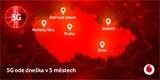 V Česku se rozsvítila druhá 5G síť. Do nové generace vstoupil Vodafone
