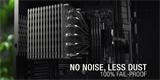 Procesorový chladič Noctua NH-P1 se obejde bez větráku*. Má přes kilo živé váhy