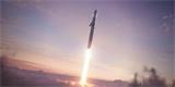 Prototyp kosmické lodi Starship SN8 dostal horní kužel a chystá se předvést placák