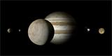 Zářící led by mohl odhalit přítomnost života na Jupiterově měsíci Europa